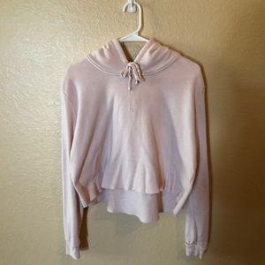 Brandy Melville pink sweatshirt.